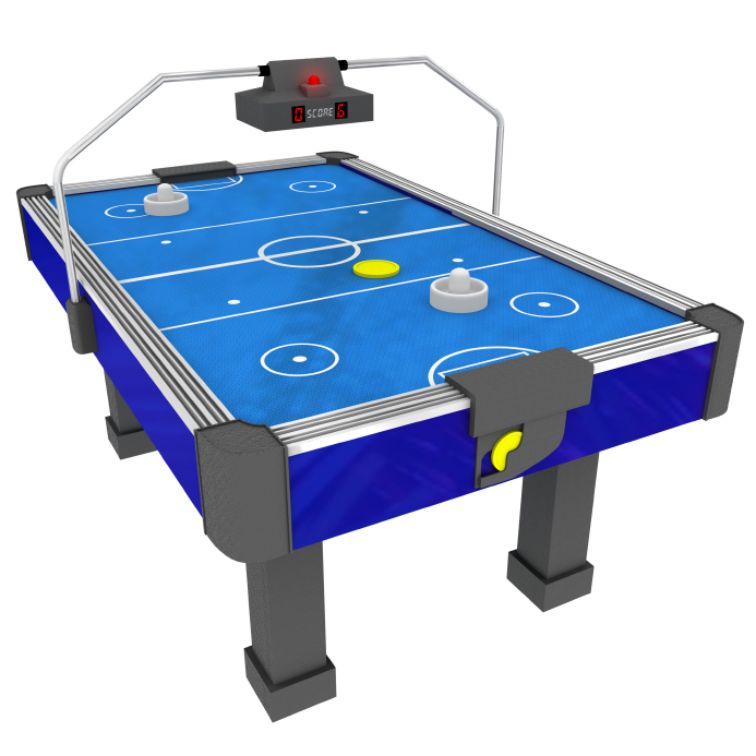 air hockey the fast and furious table top game available for hire throughout the UK