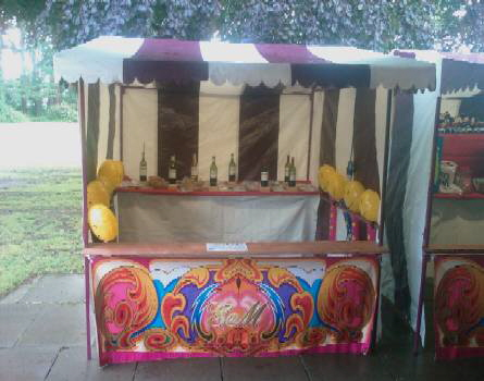 An example of one of our Victorian Hoopla Stalls