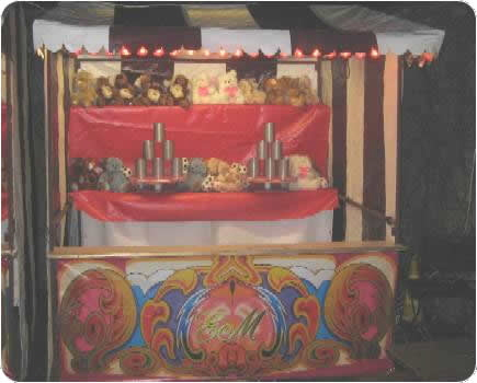 An example of one of our victorian can can stalls