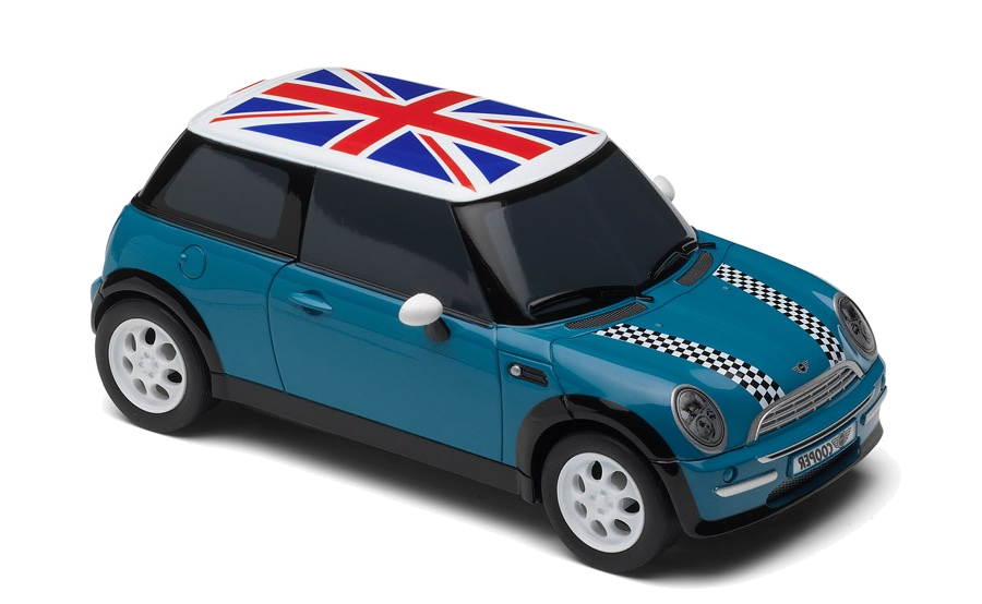 A mini car from our range of Scalextric cars